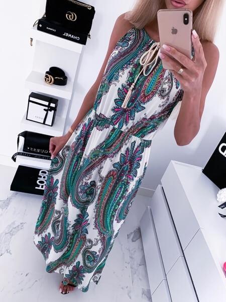 sukienka maxi camashopping
