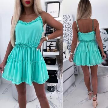Sukienka zielona Nelly
