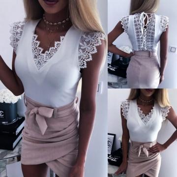 Biała elegancka bluzka CAMILA