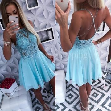 Sukienka MERCEDES Miętowa