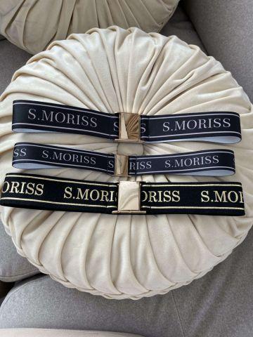 Pasek elastyczny z klamrą S.Moriss