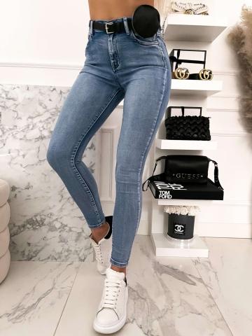Spodnie  Blue Jeans rurki z nerką
