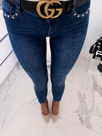 Spodnie Jeans Blue Dżety