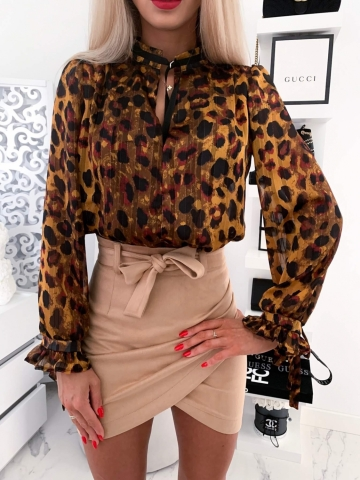 Koszula elegancka w panterek