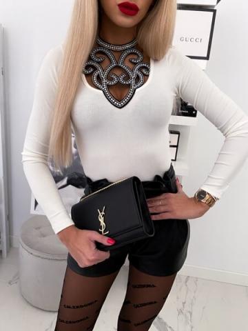 Kremowa bluzka Kolia