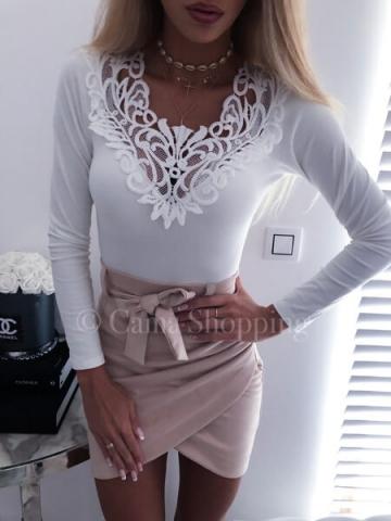 Biała bluzeczka UNICA