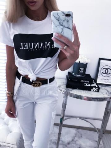 T-shirt WHITE LABEL