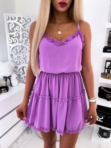 Sukienka Fioletowa Nelly