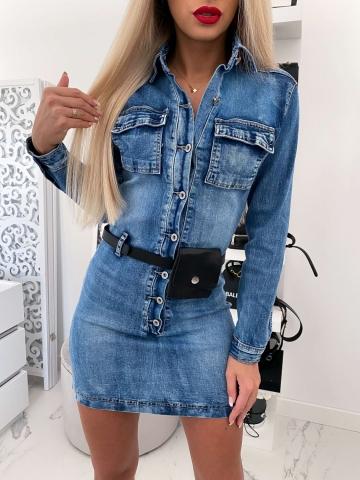 Sukienka Jeans nerka