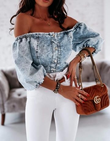 Bluzka Jeans Top VERANO