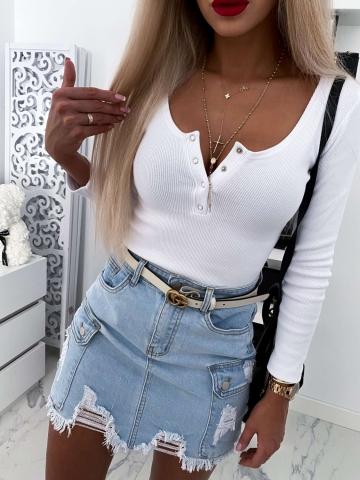 Biała Bluzka Lena