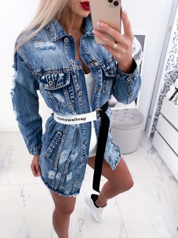 Katana Jeans z dziurami