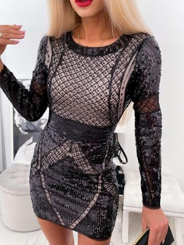 Sukienka Exclusive cekinowa