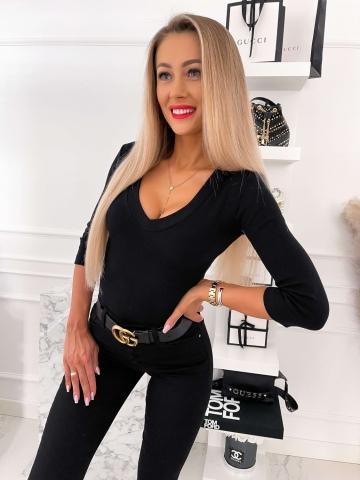Bluzka damska LILI w kolorze czarnym