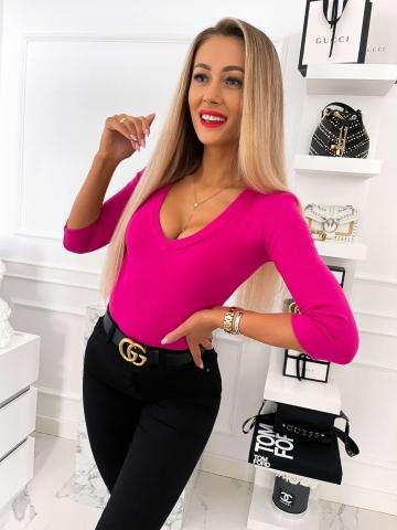Bluzka damska LILI w kolorze fuksji