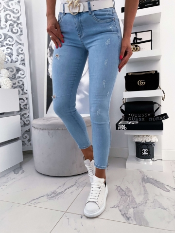 Spodnie Blue Jeans Zip Rapit