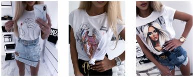 Jakie koszulki damskie z nadrukiem będą modne w tym sezonie?