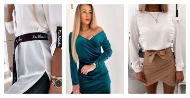 Styl glamour w modzie. Ubrania i stylizacje.