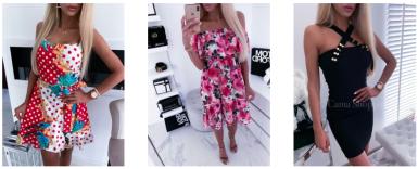 sukienki letnie w camashopping