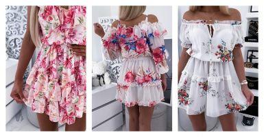 Sukienki w kwiaty – na lato i nie tylko